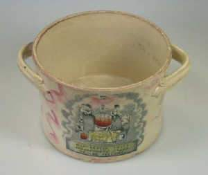 Early C19th Sunderland pink lustre bowl