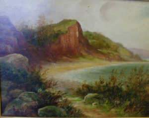 Early C20th School, lakeland landscape, oil