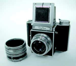 Agiflex Reflex Roll Film Camera