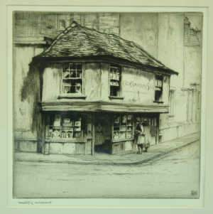 Dorothy E G Woollard 'The Old Curiosity Shop'