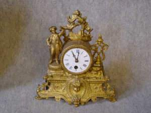Ormolu 8 day mantel clock