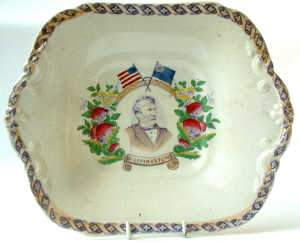 Commemorative plate for the discovery of Dr. Livingstone