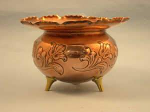Arts and Crafts Benham and Froud copper jardiniere