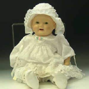Doll, possibly Canadian, c1930