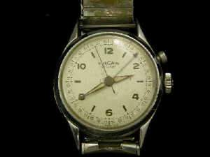 Gentleman's steel Vulcain Cricket wrist watch