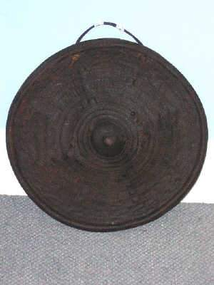 Ethiopian leather shield