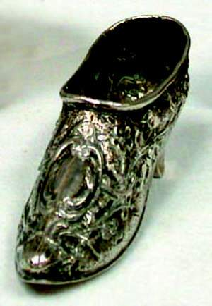Dutch silver shoe