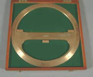 C20TH BRASS 360 PROTRACTOR, J Holden & Co Ltd