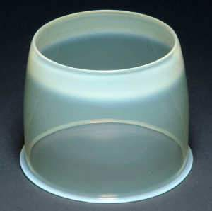 Opalescent glass shade