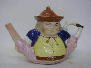STAFFORDSHIRE CHARACTER TEAPOT