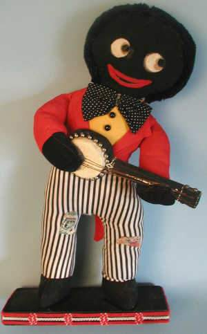 Early 20th century golliwog toy