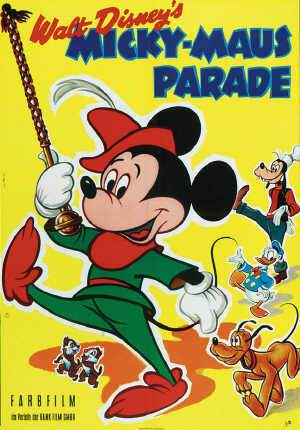 Mickey Mouse on Parade, 1960's. Rank Films