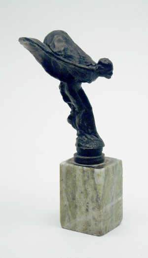 After Charles Sykes, a bronze 'Spirit of Ecstasy' figure