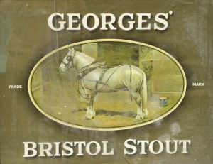 'Georges' Bristol Stout' advertising picture