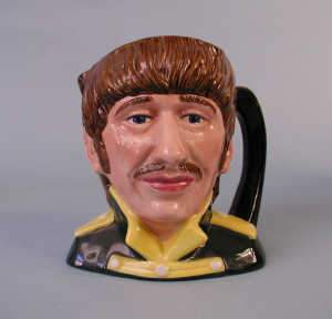 The Beatles, character jug, Ringo Starr D6726