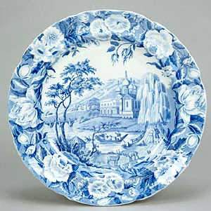 Russian Palace pattern dinner plate