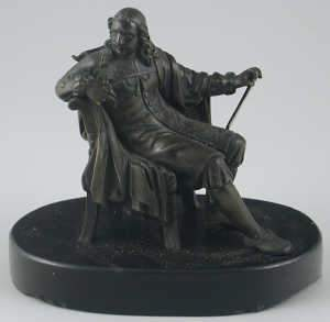 Late 19th century bronze figure