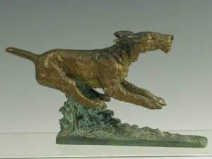 Early 20th Century cold painted bronze