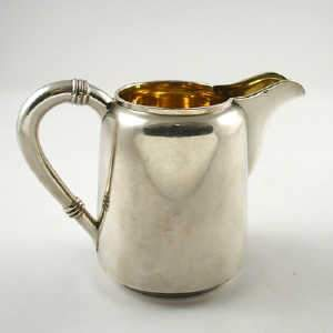 Late C19th-early 20th Russian cream jug, 1896-1908