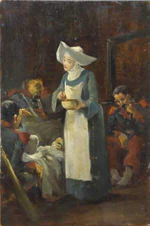 Thomas Davidson (C19th) Sister Of Mercy