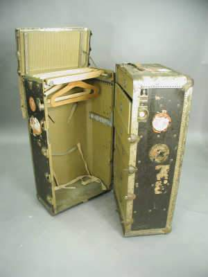 Large fitted cabin trunk by 'The Oshkosh Trunk