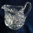 Victorian English Glass Pitcher