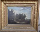 18th C oil on canvas, landscape