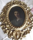 19th C oil on board, after Andrea Del Sarto