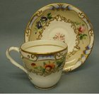 A Striking Victorian Cup and Saucer