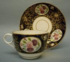 A Machin Bute Shape Tea Cup and Saucer