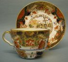 A Spode Bute Shape Cup and Saucer