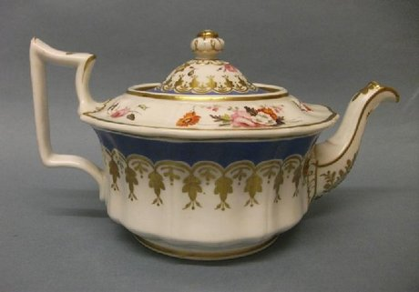 NOW SOLD Old English shape tea cup & saucer c1820  |Old English Shapes