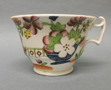 A Hilditch & Son London Shape Teacup and Saucer