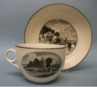 A Machin Bute Shape Cup and Saucer