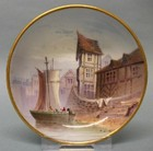 A Small Minton Hand-Painted Dish