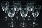 Set of 6 Victorian Sherry Glasses