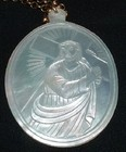 Mother-of-Pearl Pendant of Christ.