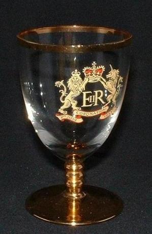 E.R Sherry Glass