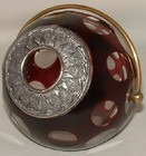 Ruby Cased Faceted Hair Tidy