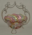 Silverplated Harlequin Bonbon Dish on Stand