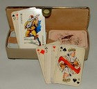 Boxed set of German Patience Cards
