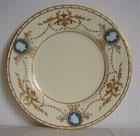 Minton Tiffany  Plate Pâte-sur-Pâte Cameos Alboin Birks