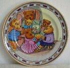 Mintons Teddy Bears Story-Time 'Adventures' Artist painted Plate