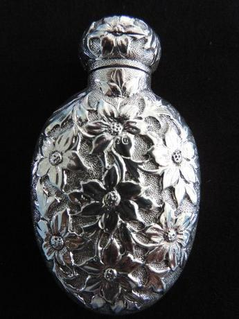 Silver Scent Bottle by Horton & Allday