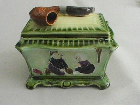 Ceramic Tobacco Jar