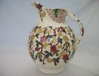 Dunn Bennett Staffordshire Transferware 'Imperial' Arts and Crafts Jug c1890