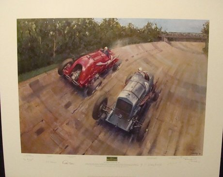 The Spirit Of Brooklands Limited Edition Terence Cuneo