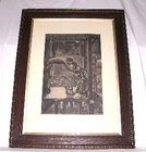 Rare HOLLYER Burne-Jones PLATINOTYPE Arts Crafts