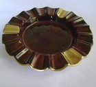 Carlton Ware Rouge Royale Gold Gilded Ash Tray