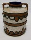 Strehla East German Modernist Volcanic Vase